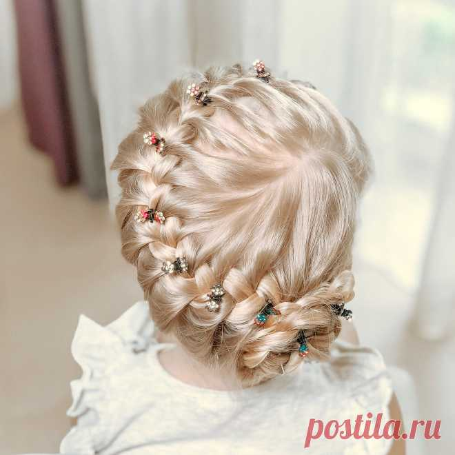 Los peinados para las muchachas
