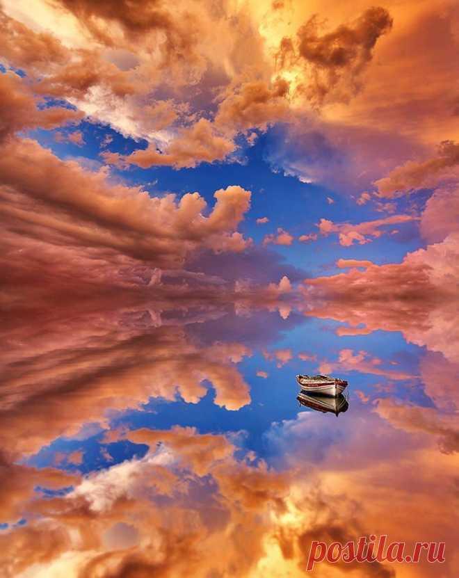 Entre el cielo y la tierra