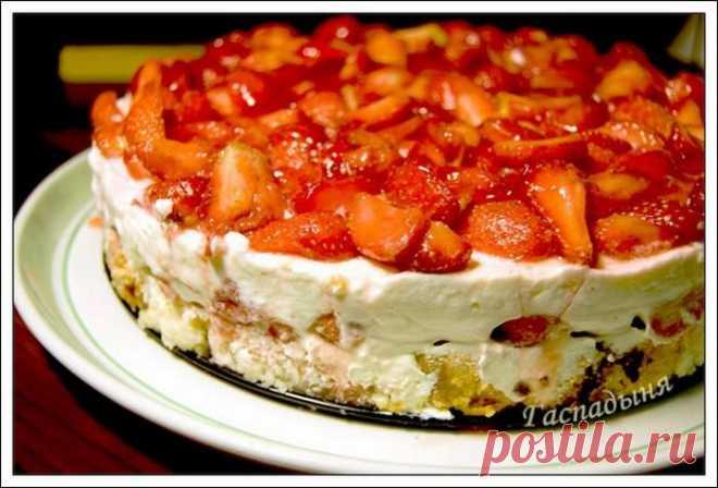Бананово-творожный торт без выпечки. / Кулинарные Рецепты с фотографиями.