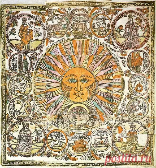 Народный календарь восточных славян — Википедия