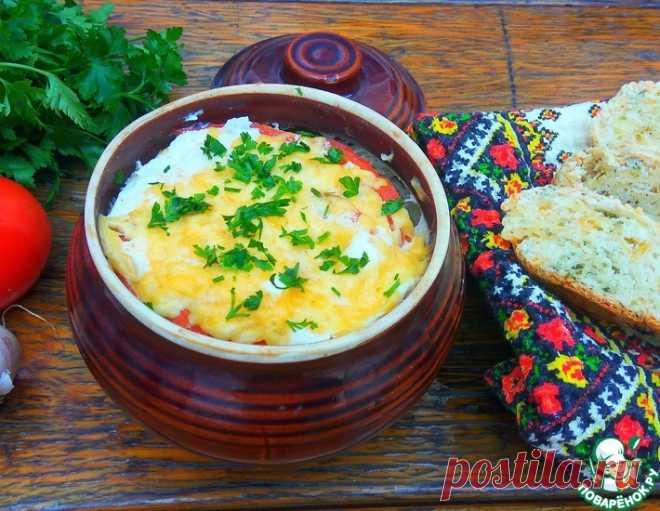 Сытное блюдо в горшочках – кулинарный рецепт