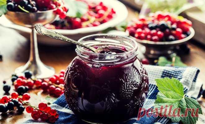 Что приготовить из смородины на зиму – простые рецепты вкусных заготовок - Образованная Сова Смородина – вкусная ягода, богатая витамином С и содержащая натуральный пектин. Она отлично подходит для заготовок варенья, джема, желе и компотов. В нашей подборке рецептов со смородиной вы найдете простые и вкусные заготовки на зиму. Для заготовок можно использовать ягоды красной, черной и белой смородины. Из ягод красной смородины лучше получается желе, благодаря содержащемуся в …
