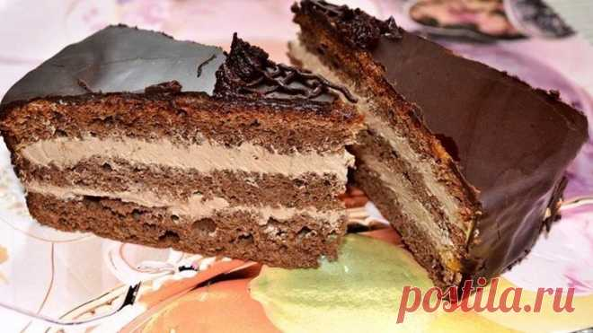 PRAGUE cake in accordance with GOST