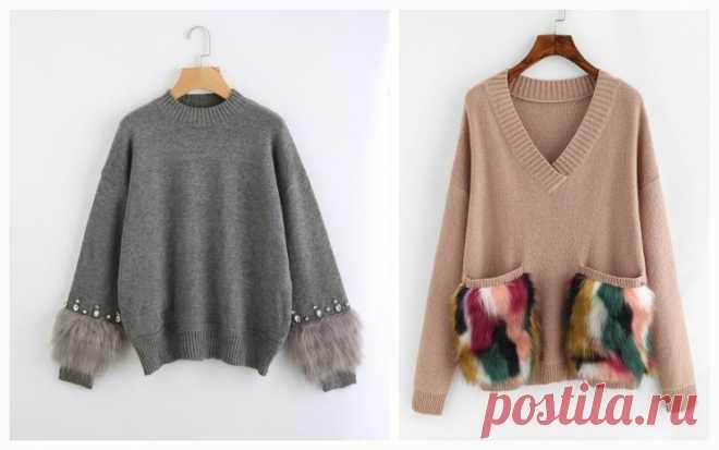 Идеи для украшения свитера – Журнал Вдохновение Рукодельницы