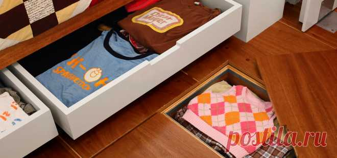 25 дизайн-хаков, которые вас удивят Нетрадиционный подход к организации жилого пространства может существенно облегчить жизнь