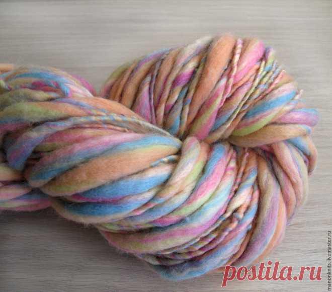 пряжа для вязания толсто тонко арт пряжа для шарфа снуда пледа 200г
