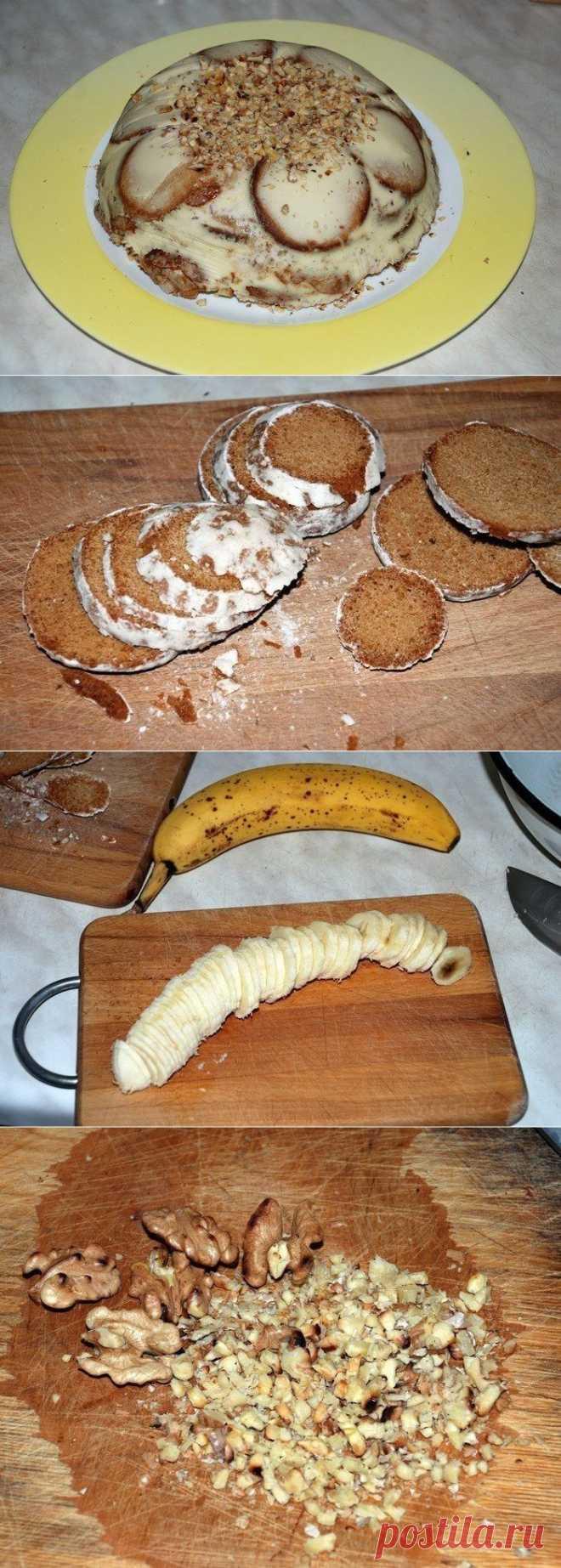 Холодный торт - Простые рецепты Овкусе.ру