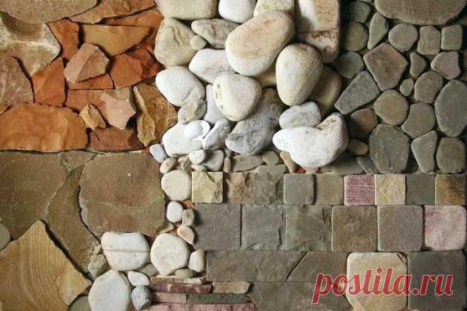 Использование натурального камня в дизайне домов   Журнал