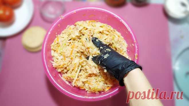 Теперь капусту покупаю чаще. Приготовили безумно вкусный ужин из капусты - БУДЕТ ВКУСНО! - медиаплатформа МирТесен
