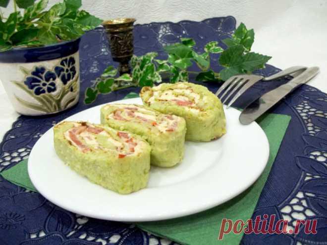 Рулет из кабачка — Sloosh – кулинарные рецепты