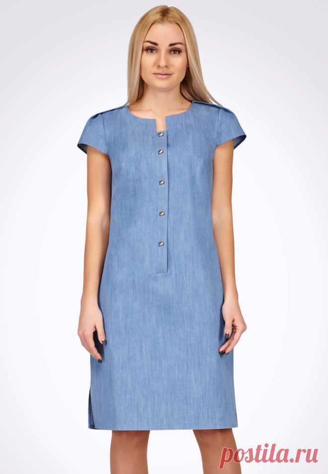 3a57aab4729 Платье джинсовое Cat Orange за 795 грн. в интернет-магазине Lamoda.ua Платье