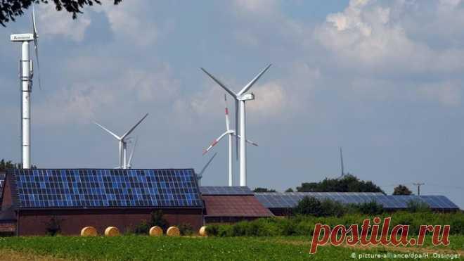 Доля ″зеленой энергетики″ в ФРГ впервые превысила 50 процентов за полугодие