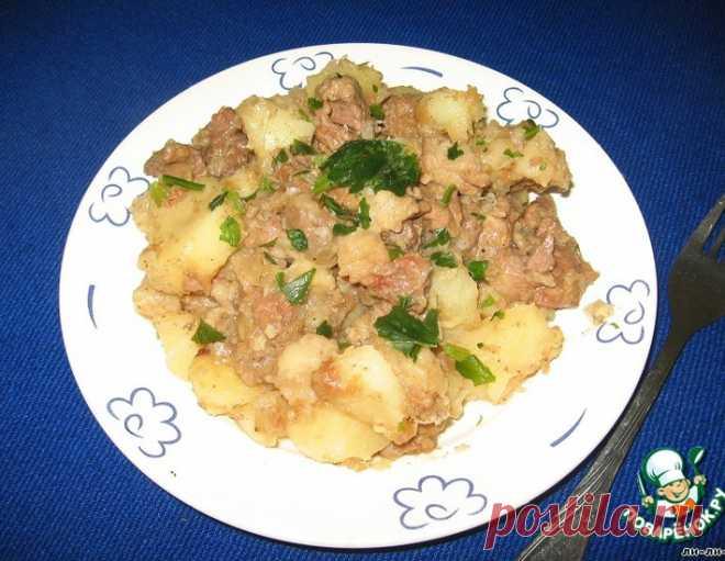 """Жаркое из говядины """"Бабушкино"""" – кулинарный рецепт"""