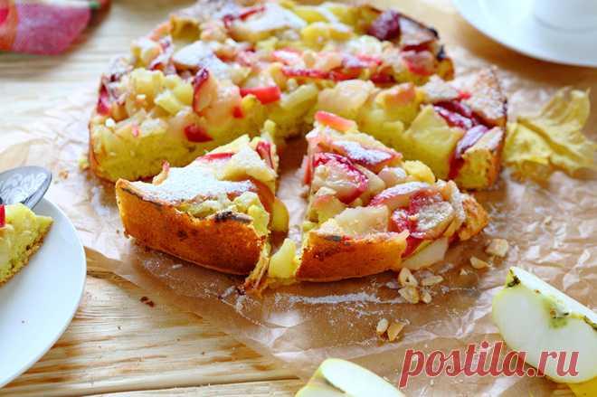 Диетическая яблочная шарлотка: ни одной лишней калории!