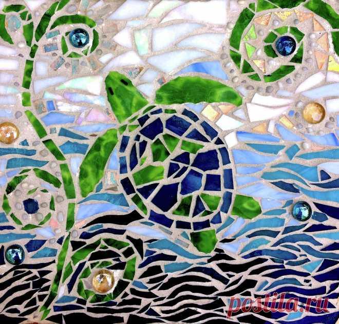 Turtle Mosaic Art (Page 3) - Line.17QQ.com