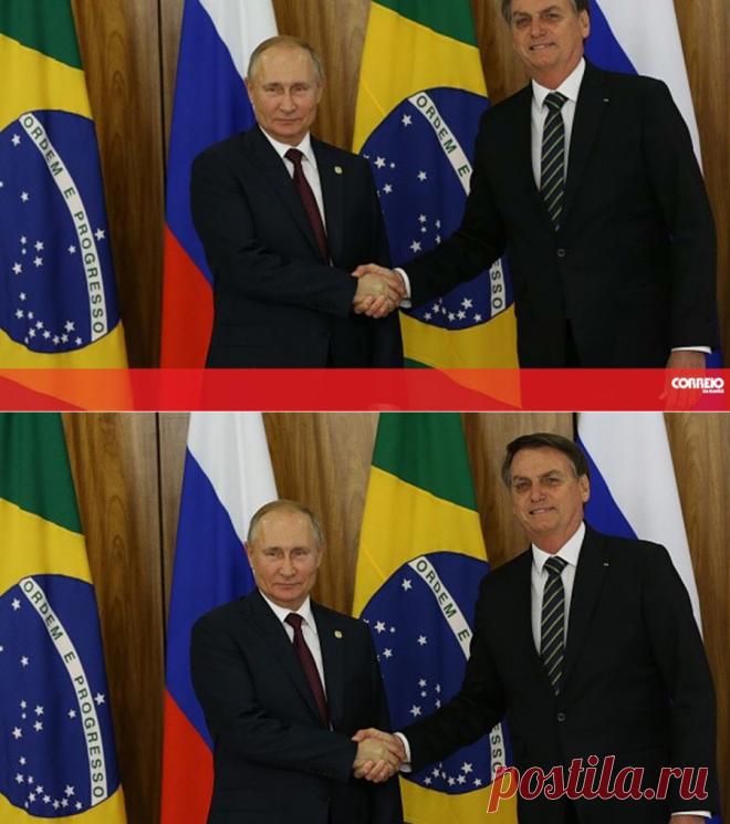Presidente da Rússia, Vladimir Putin, elogia