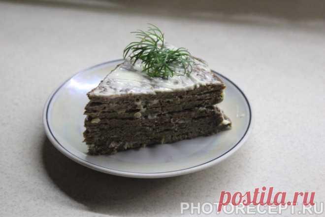 печеночный торт рецепт с фото пошагово вкусный