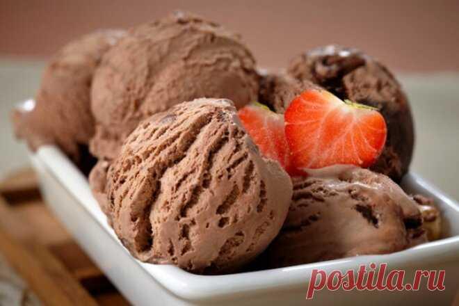 Нежный шоколадный пломбир по-домашнему, рецепт с фото — Вкусо.ру