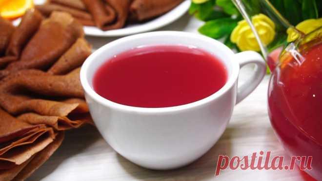 Клюквенный чай с апельсином   Готовим с Калниной Натальей   Яндекс Дзен
