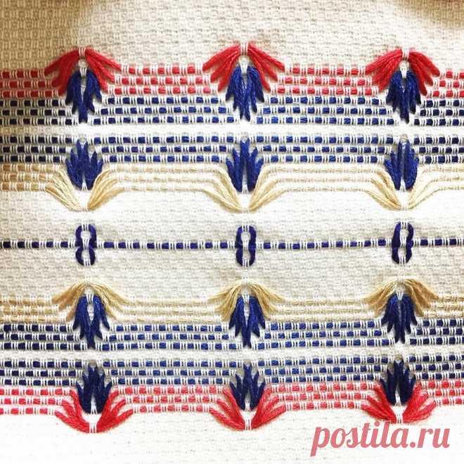 Редкий вид рукоделия – шведская вышивка (мастер-класс и идеи) | Рукоделие
