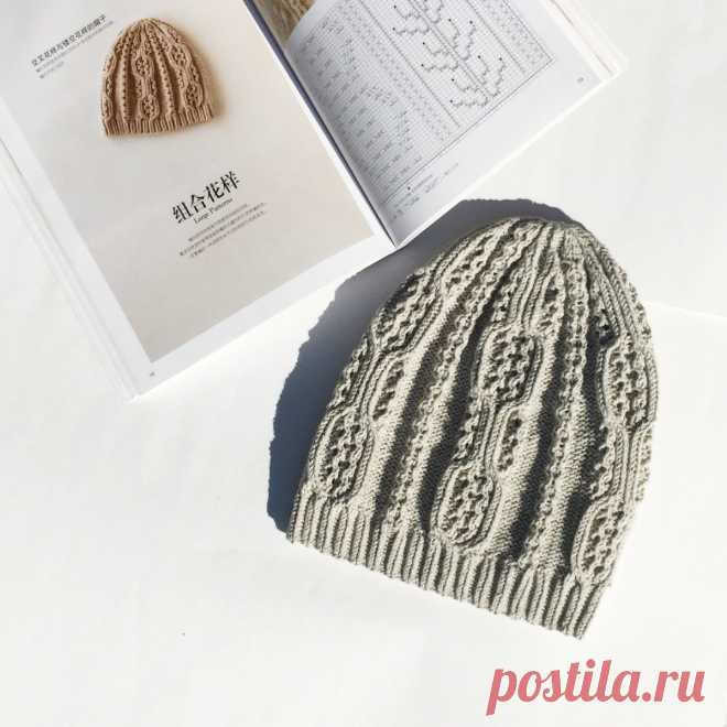 Открытие шапочного сезона. Шапка Дарума спицами со схемой и описанием | Knittingtrend | Яндекс Дзен