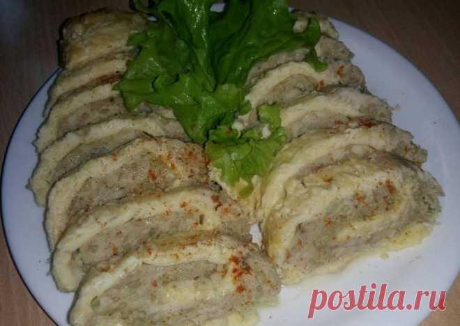 (5) Куриный рулет в сыре - пошаговый рецепт с фото. Автор рецепта Злата . - Cookpad