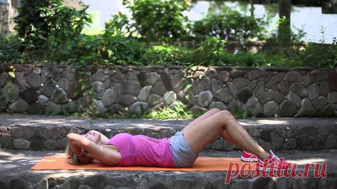 Самая эффективная домашняя тренировка: 5 упражнений!