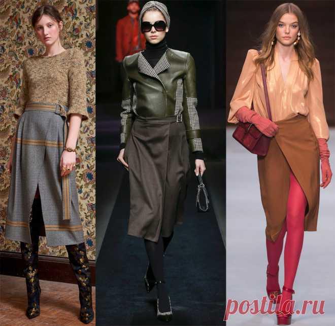 a34b1c685d38 Модные и красивые юбки с запахом 2018-2019 | Мода | Постила