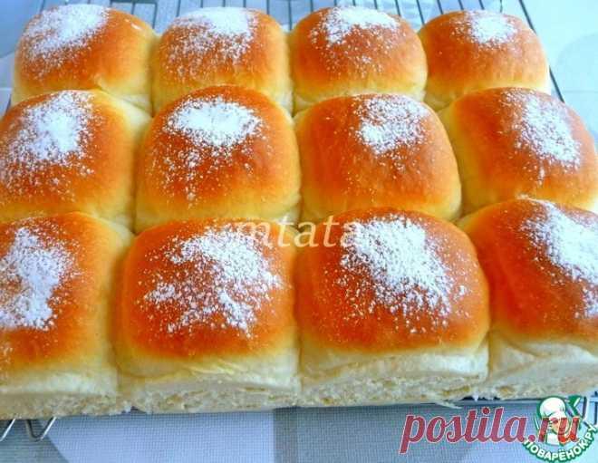 Нежнейшие булочки со сливочным сыром – кулинарный рецепт