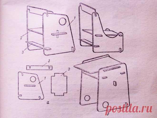 Детская мебель своими руками | стандарт стульев и столов