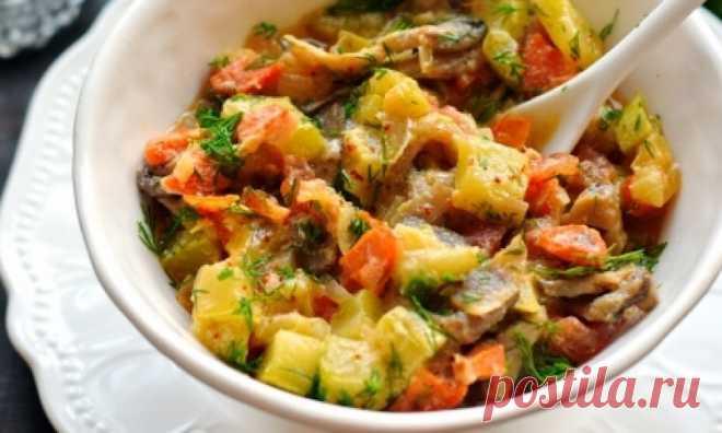 Изумительно вкусные кабачки в соевом соусе