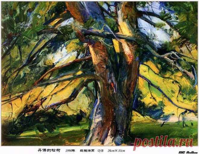 Китайский художник Zhang Wen Xin . 107014096_1704262115.jpg (699×542)