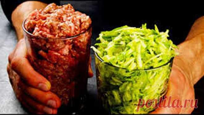Стакан фарша и кабачков! 3 рецепта, которые можно готовить всё лето!
