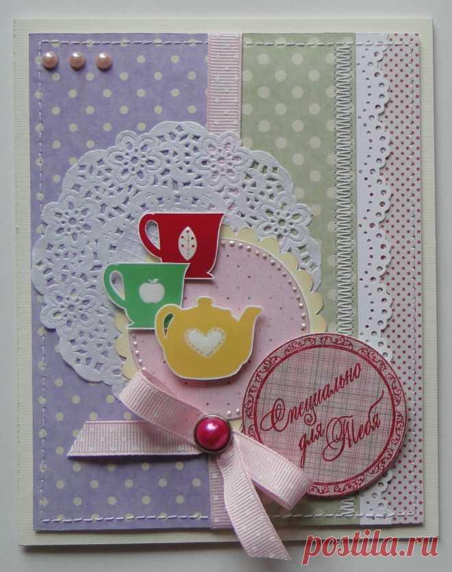 Скрапбукинг образцы открыток