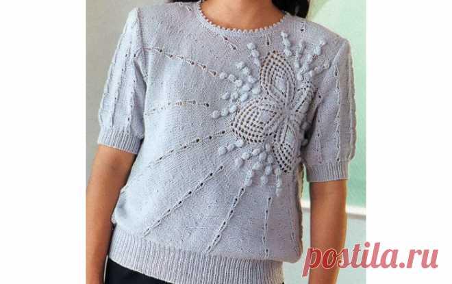 Пуловер«Солнышко»