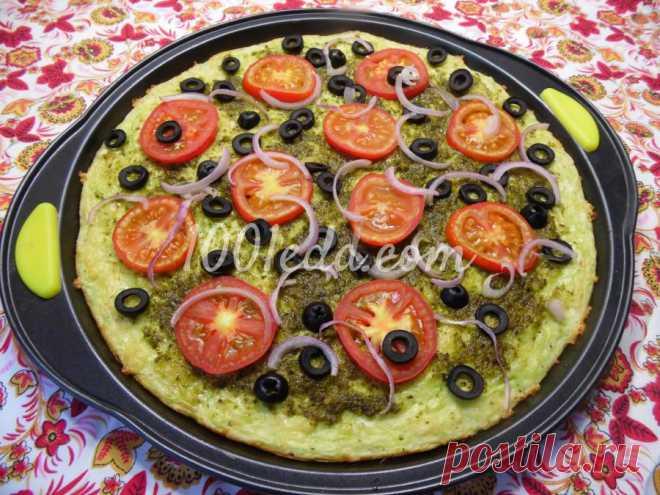 Пошаговый рецепт летней пиццы на кабачковой основе