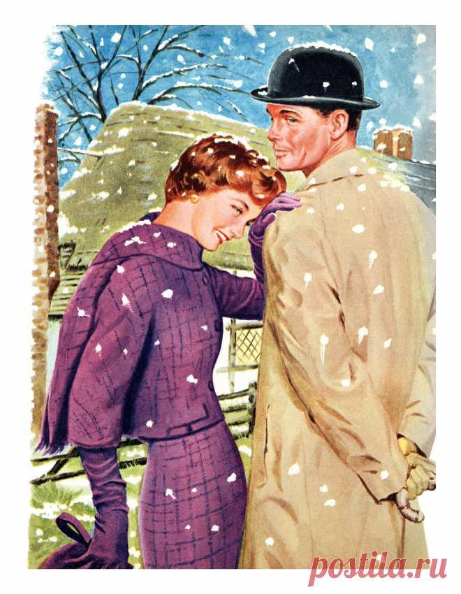 1959 illustration by Tom Lovell