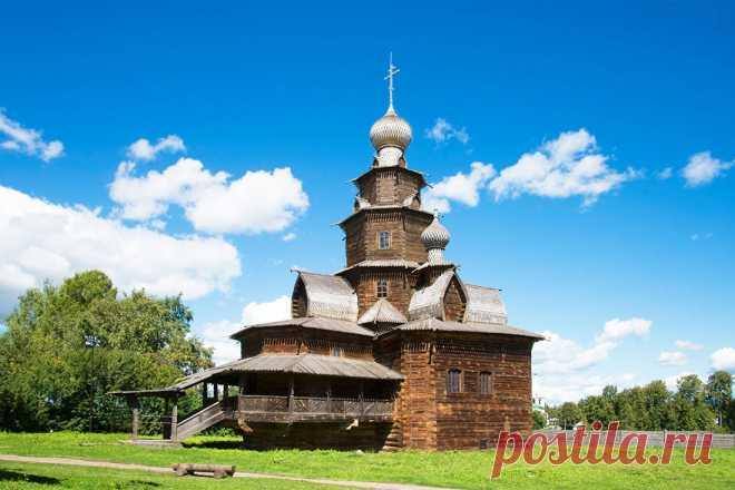 Россия:Свой колорит древнего города Суздаль!