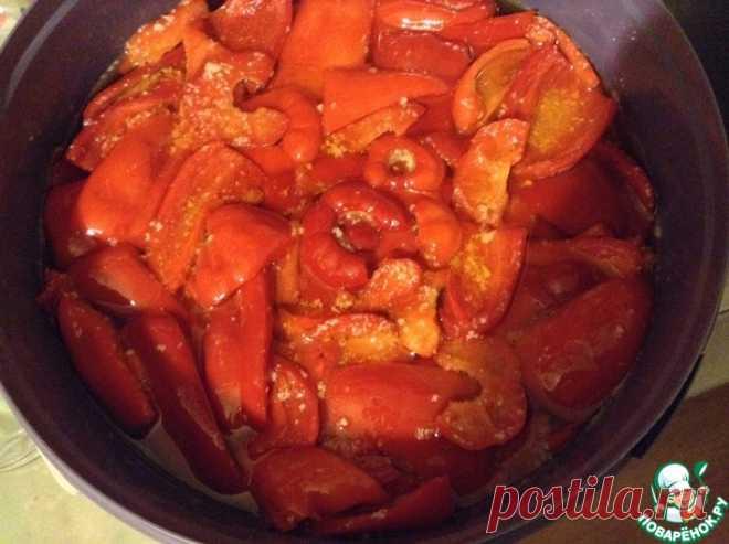 Болгарский перец сладкий маринованный Кулинарный рецепт