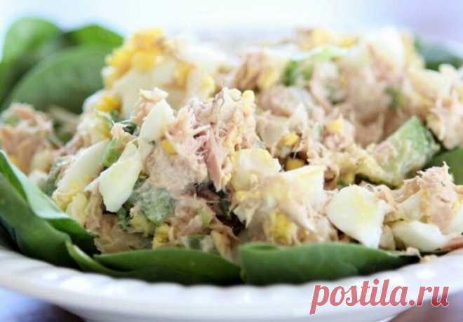Стала по-новому рецепту готовить салат из рыбных консервов. Всего 10 минут. Вкуснее Мимозы   Отчаянная Домохозяйка   Яндекс Дзен