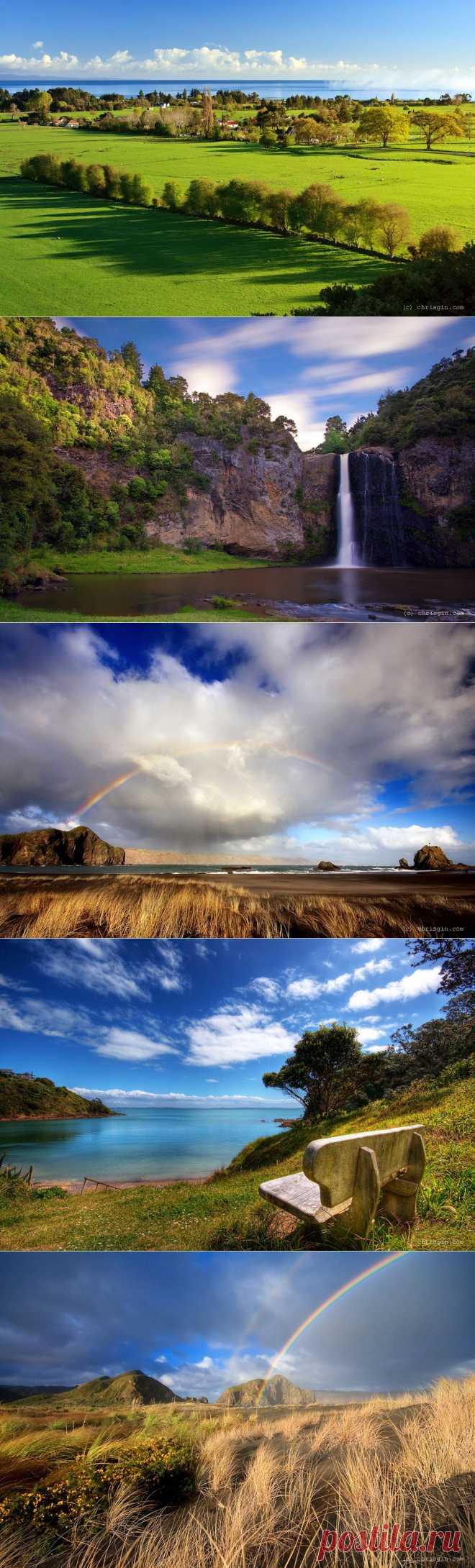 Красота пейзажей Новой Зеландии в объективе Криса Джина : НОВОСТИ В ФОТОГРАФИЯХ