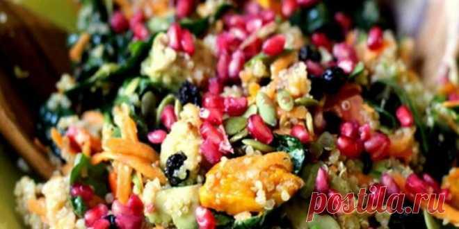 Салат, который борется с раком и вы должны есть его раз в неделю (с яблочным уксусом, авокадо и другими ингредиентами) - Советы на каждый день