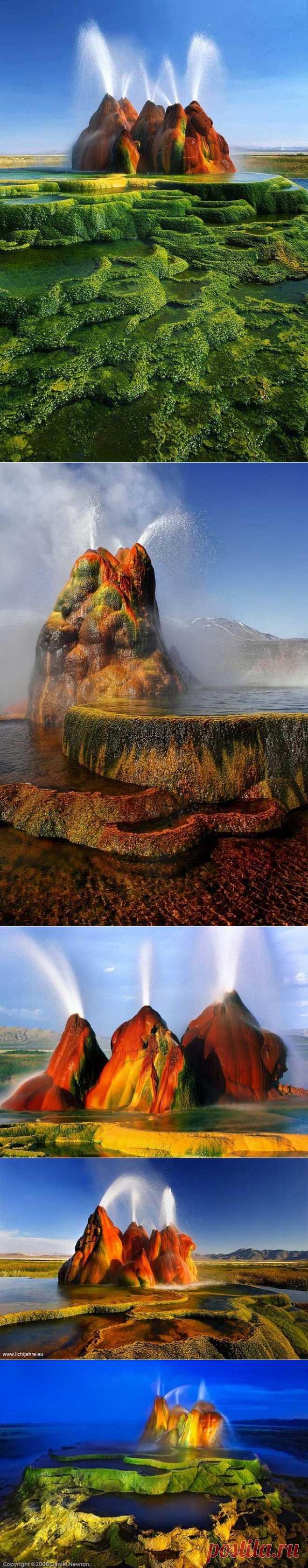 Гейзер Флай - чудо природы | В мире интересного