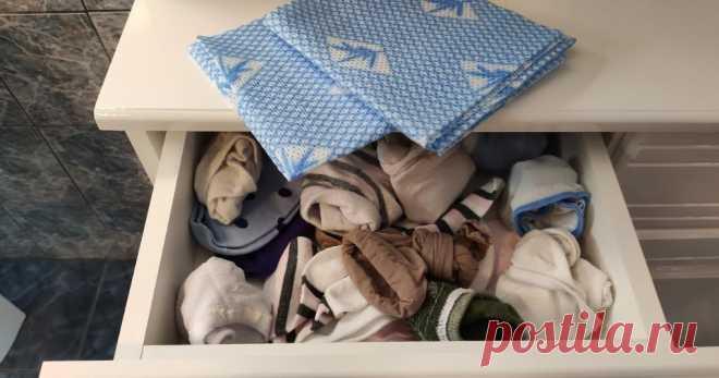 Как салфетка поможет сохранить порядок в шкафу ...