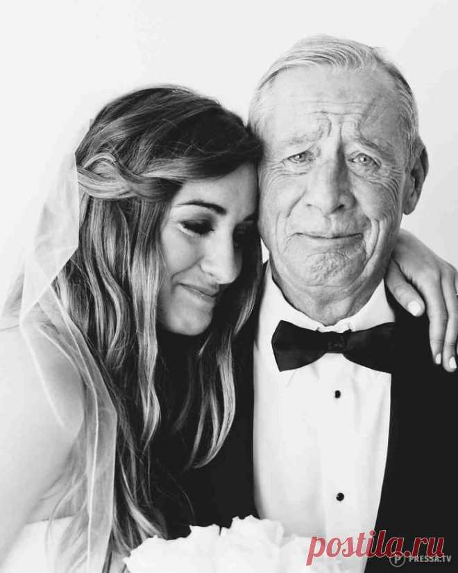 Трогательные эмоции отцов при виде своих дочек в свадебных платьях . Чёрт побери
