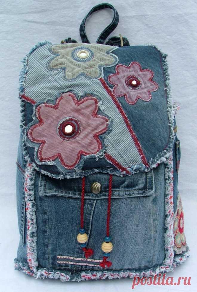 6b9c731ccc9d Самая большая коллекция идей джинсовых сумок - Сам себе волшебник ...
