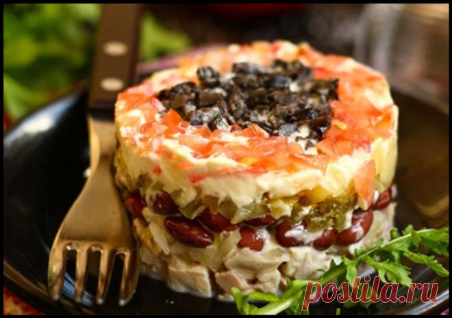 Вкуснейший салат «Коварство и любовь» - перед ним никто не устоит!
