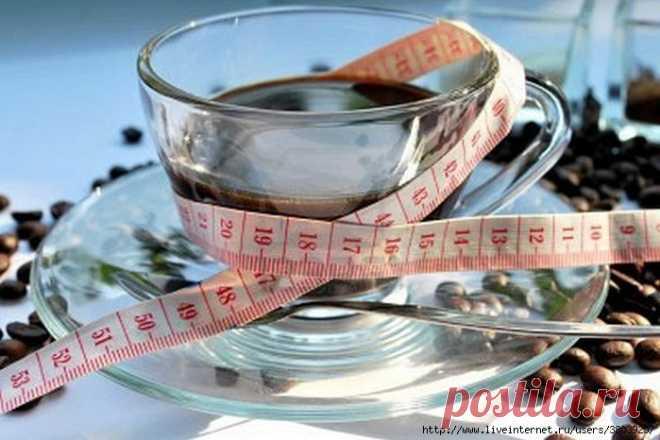 Кофейная диета для похудения на 3, 7, 14 дней, фото до и после.