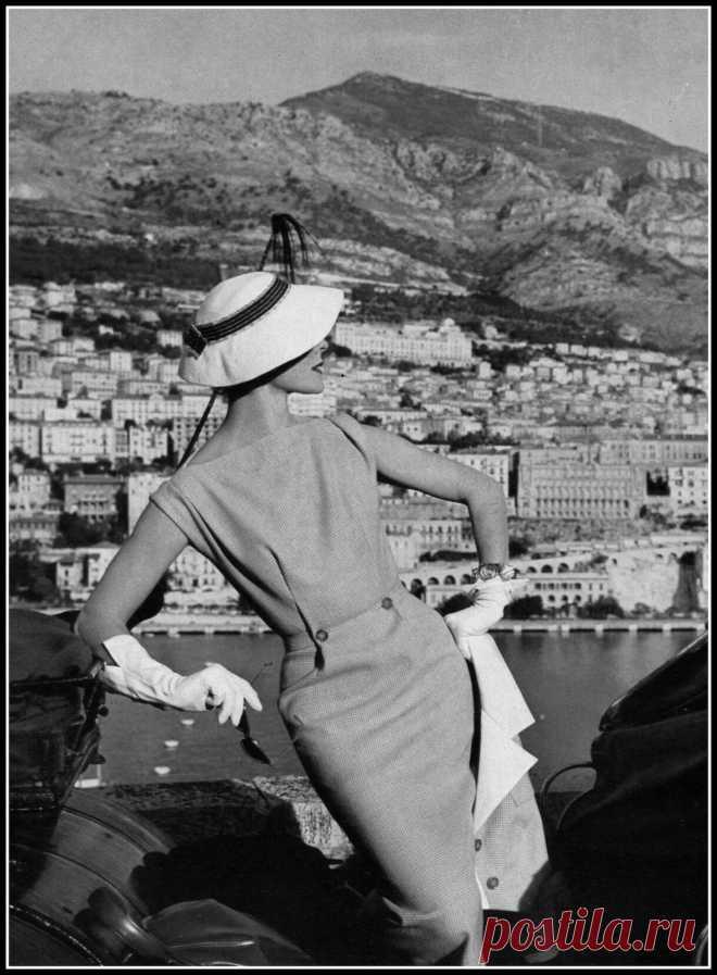 Bettina, Paris Vogue, February 1954