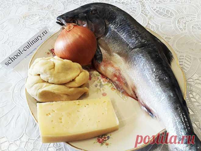 Приготовить пирог с горбушей и сыром можно не только как вкусную выпечку в чаепитию в кругу семьи   school-culinary.ru   Яндекс Дзен